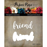 Paper Rose - Dies - Friend Layered