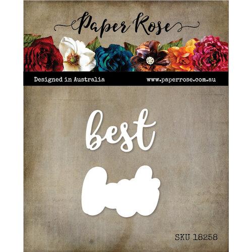 Paper Rose - Dies - Best Layered 2
