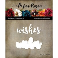 Paper Rose - Dies - Wishes Layered 2