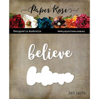 Paper Rose - Dies - Believe Layered