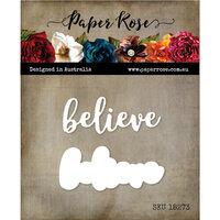 Paper Rose - Dies - Believe Layered