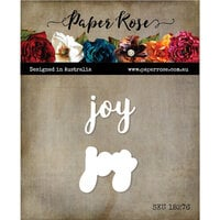 Paper Rose - Dies - Joy Layered