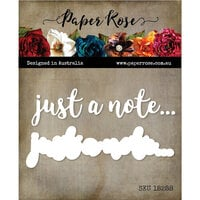 Paper Rose - Dies - Just a Note Layered