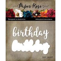 Paper Rose - Dies - Birthday Layered 2