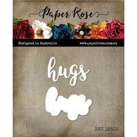 Paper Rose - Dies - Hugs Layered