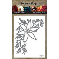 Paper Rose - Dies - Christmas Poinsettia Corner