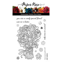 Paper Rose - Clear Photopolymer Stamps - Wooly Special Friend