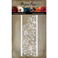 Paper Rose - Dies - Poinsettia Border