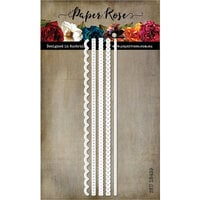 Paper Rose - Dies - Stitched Borders