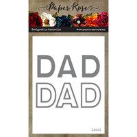 Paper Rose - Dies - Dad Word