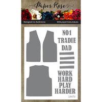 Paper Rose - Dies - Tradie Vest Creator