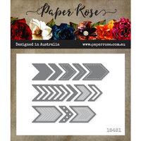 Paper Rose - Dies - Chevron - Large