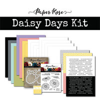 Paper Rose - Card Making Kit - Daisy Days