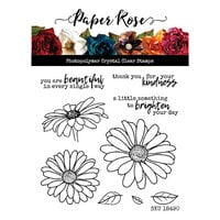 Paper Rose - Clear Photopolymer Stamps - Daisy Days