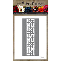 Paper Rose - Dies - Stained Glass Border