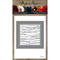 Paper Rose - Dies - Spotty Line Square