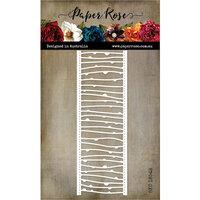 Paper Rose - Dies - Spotty Line Border