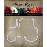 Paper Rose - Dies - Vintage Tractor