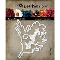 Paper Rose - Dies - Darling Grevillea