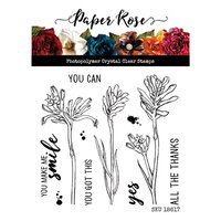 Paper Rose - Clear Photopolymer Stamps - Kangaroo Paw