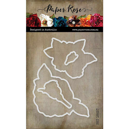 Paper rose Sketchy Roses die