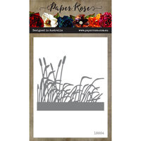 Paper Rose - Dies - Cattails and Grass Border