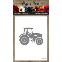 Paper Rose - Dies - Tractor Lady