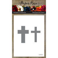 Paper Rose - Dies - Cross - Small