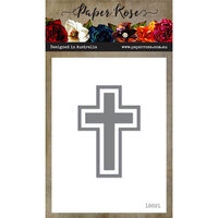Paper Rose - Dies - Cross - Large