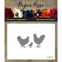 Paper Rose - Dies - Chicken Trio