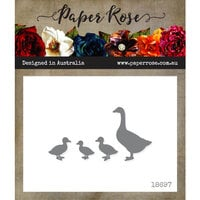 Paper Rose - Dies - Ducks