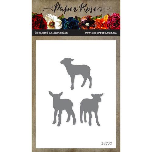 Paper Rose - Dies - Lamb Trio - Large