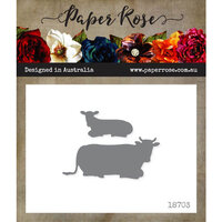 Paper Rose - Dies - Cows Lying Down