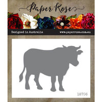 Paper Rose - Dies - Cow - Large