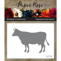 Paper Rose - Dies - Cow Standing - Large