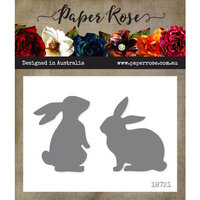 Paper Rose - Dies - Bunnies - Large