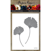 Paper Rose - Dies - Ginko Leaves