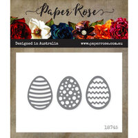 Paper Rose - Dies - Easter Eggs Decorative - Small