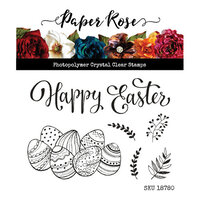 Paper Rose - Clear Photopolymer Stamps - Easter Basket Accessories
