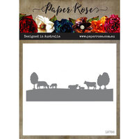Paper Rose - Dies - Farm Border 1 - Cows