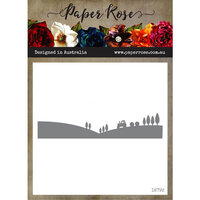 Paper Rose - Dies - Farm Border 3 - Tractor