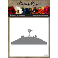 Paper Rose - Dies - Farm Border 4 - Windmill