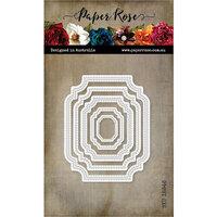 Paper Rose - Dies - Nesting Label 2