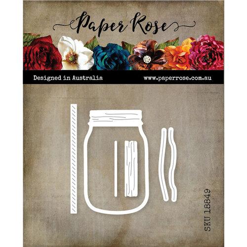 Paper Rose - Dies - Mason Jar