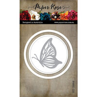 Paper Rose - Dies - Layered Butterfly Circle