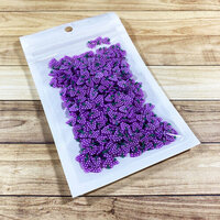Paper Rose - Shaker Elements - Purple Berries
