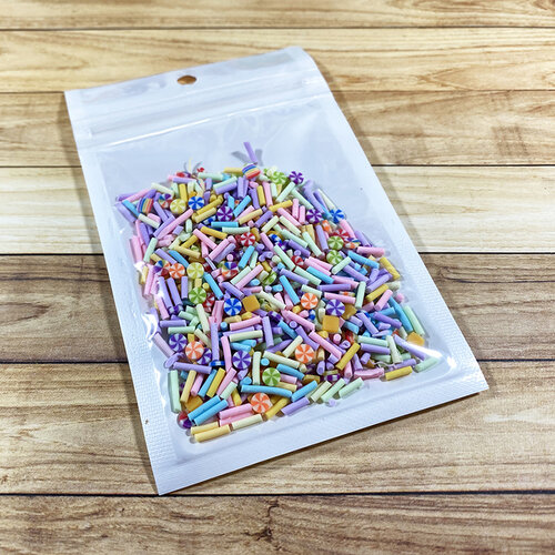 Paper Rose - Shaker Elements - Candy Buffet Mix