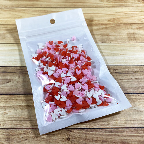 Paper Rose - Shaker Elements - Heart Mix