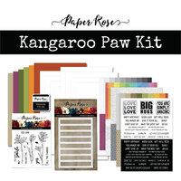 Paper Rose - Card Making Kit - Kangaroo Paw