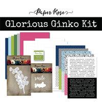 Paper Rose - Card Making Kit - Glorious Ginko